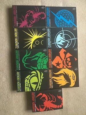 Alex Rider The Complete Missions - Anthony Horowitz - V Good Condition (9 Books)