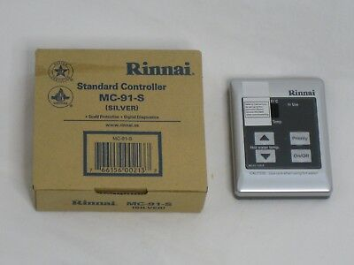 Rinnai MC-91-1US-S Controller Tankless Hot Water Silver - New