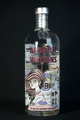 ABSOLUT VODKA WATKINS 1,0L   WODKA SCHWEDEN   Limited Edition ! UNGEÖFFNET!
