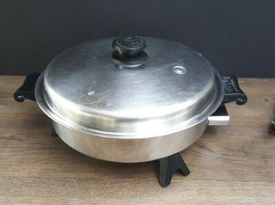 Saladmaster 7817 Electric Skillet / Frying Pan ...TESTED