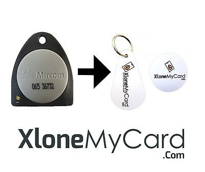 Copy / Clone / Duplicate Mircom Fob or Key Card (26 bit format only)