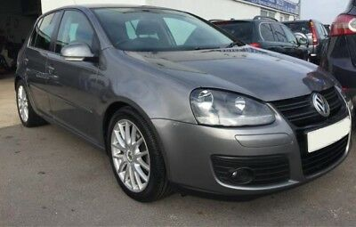 04-08 VW GOLF Mk5 Gt Tdi 140 Bhp 2 0 Tdi 6 Speed Grey La7T Breaking Wheel  Nut
