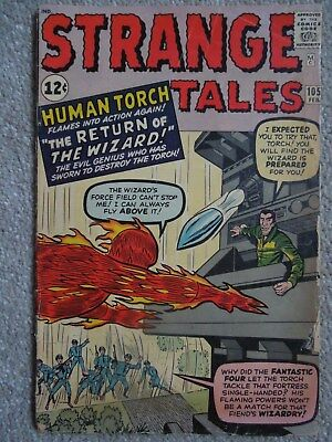 Strange Tales #105 (Vol One 1963) - 2nd appearance of The Wizard