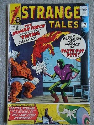 Strange Tales #124 (Vol One 1964)
