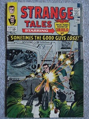 Strange Tales #138 (Vol One 1965)