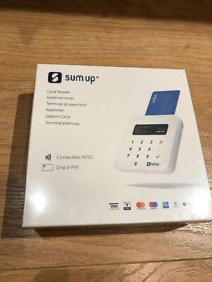 Sum Up Air Card Reader,Chip & Pin Contactless Card VISA MC AMEX Reader Brand New