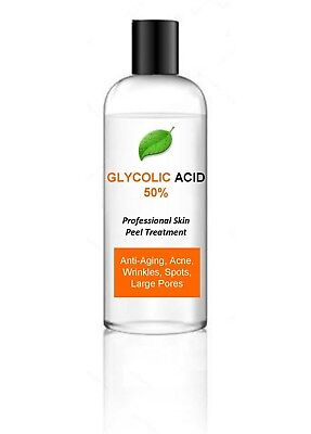 100ml 50% Glycolic Acid AHA Skin Peel - Acne Treatment – 100ml
