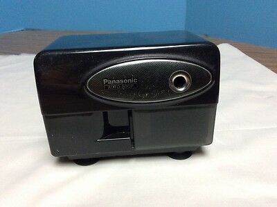 Panasonic Electric Pencil Sharpener Model KP-310 with Auto-Stop Black
