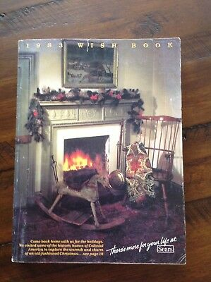 Vintage Sears Christmas Catalog ~ 1983 ~ Mint Condition