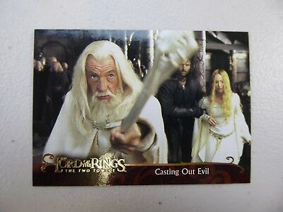 TOPPS Lord of the Rings: The Two Towers - Card #116 CASTING OUT EVIL