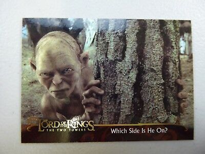TOPPS Lord of the Rings: The Two Towers - Card #152 WHICH SIDE IS HE ON?