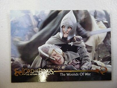 TOPPS Card : LOTR The Return Of The King  #70 THE WOUNDS OF WAR