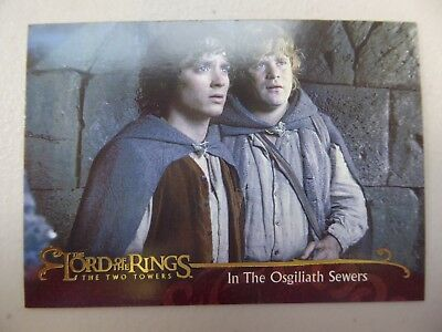 TOPPS Lord of the Rings: The Two Towers - Card #78 IN THE OSGILIATH SEWERS