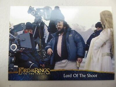 TOPPS Lord of the Rings: The Two Towers - Card #79 LORD OF THE SHOOT