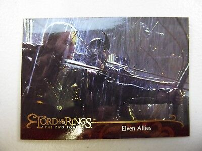 TOPPS Lord of the Rings: The Two Towers - Card #137 ELVEN ALLIES