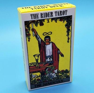 Waite Rider Tarot Deck 78 Cards Set With Bag English Future Telling Sealed New