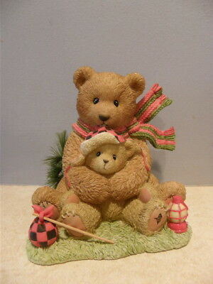Cherished Teddies ORVILLE 4008413 Couldn't bear to be without you Large fig  NEW