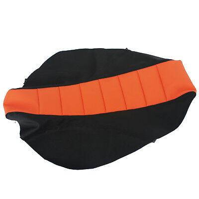 Orange Ribbed Seat Cover for KTM SX SXF EXC F 125 150 200 300 350 450 2012-2016