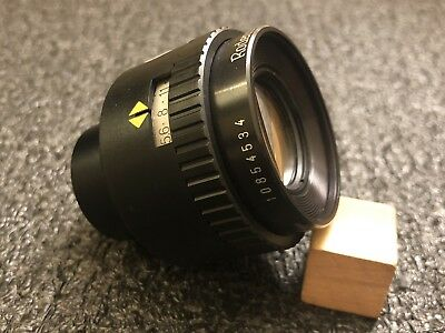 Rodenstock APO Rodagon D 75MM F4 Enlarging Lens 10854534 M1:1 EUC! Germany