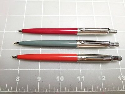 Judd's Lot of 3 Very Nice Vintage Parker Jotter Pencils