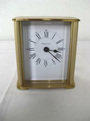 Vintage Tiffany Brass Desk Clock  Germany
