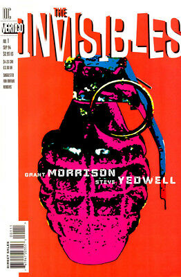 The Invisibles  1-25  1St Series    + Others   Complete Run