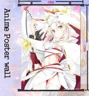 Anime Azur Lane ayanami Cosplay Home Decor Wall Hanging printing Poster 40*60cm