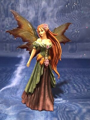 """Fairy Site Summer Fairy Figure 5.5"""" Amy Brown AB37012 Retired 2009 Munro"""