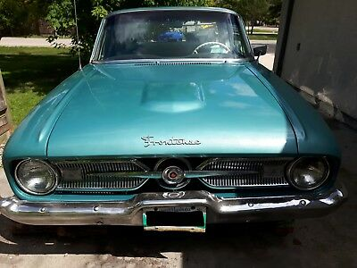 Ford: Falcon Frontenac 1960 Ford Frontenac (Videos added) (Unique falcon made in Canada for 1 year)