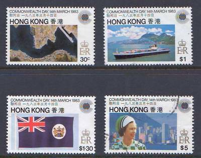 Hong Kong - 1983  Commonwealth Day  - Mixed Usage  Set -  Catalogue Value £10 +