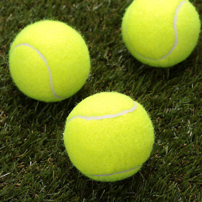 576E Tennis Ball Durable Elasticity Round Training Learning Sports Exercise 2F92