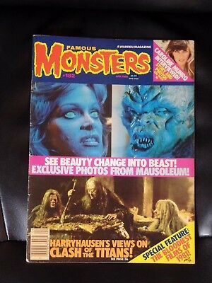 Famous Monsters of Filmland #182 — Mid Grade — No Reserve
