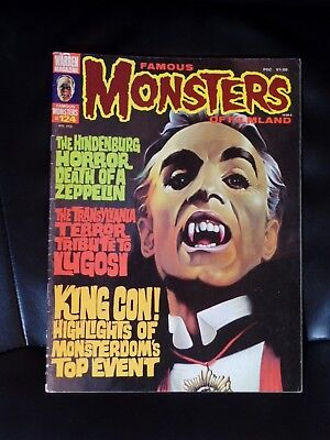 Famous Monsters of Filmland #124 — Mid Grade — No Reserve