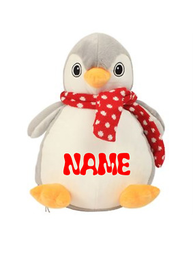 Gift  Embroidery personalised TOY Any Name, CHRISTMAS, birth cristening