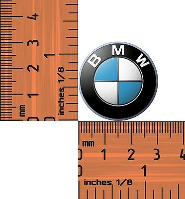 BMW Motorcycle or Car Logo 30mm Epoxied  Quality Metal Lapel Pin / Badge