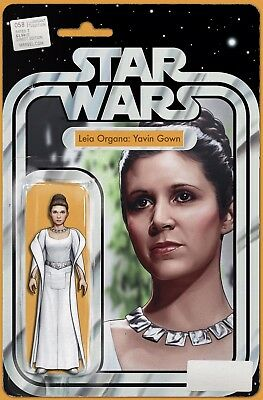 Star Wars #58 - Leia Organa: Yavin Gown - Action Figure Variant JTC EXCLUSIVE