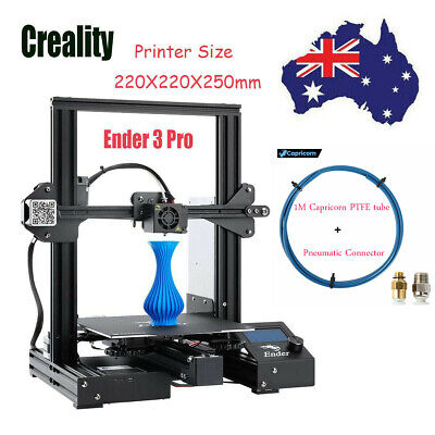 Creality Ender 3 Pro 3D Printer Magnetic+Glass Bed MeanWell Power 220*220*250mm