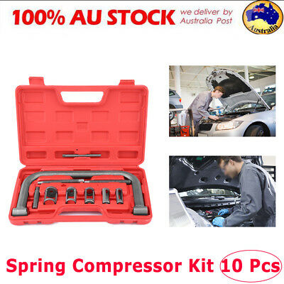 10X Valve Spring Compressor Tool Kit for Car Vehicle Small Van Petrol Engines AU