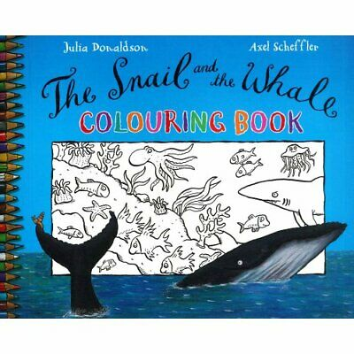 Snail and the Whale Colouring Book by Donaldson Julia S Book The Cheap Fast Free