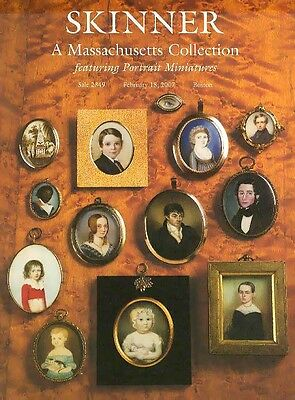 Skinner ///  Portrait Miniatures (141 lots) Post Auction Catalog 2007