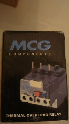 mcg components thermal overload relay dl2-18 DOL 12-18 amps star delta 21-31 amp