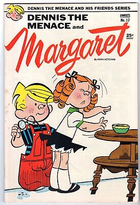 Dennis the Menace & His Friends #17 Featuring Margaret, Fine - VF Condition'