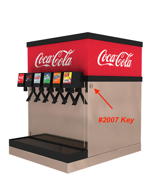 Coca Cola Post Mix Key Switch Key #2007