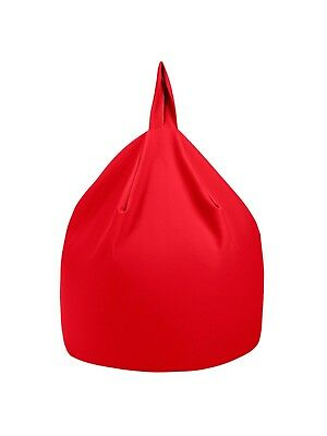 'Hugo'  Bean Bag - Large - Red (John Lewis overstock) - Filling Included
