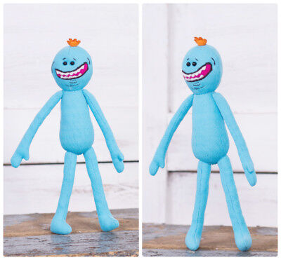 Rick and Morty Inspired - Mr Meeseeks plush toy, 27 cm high, handmade doll