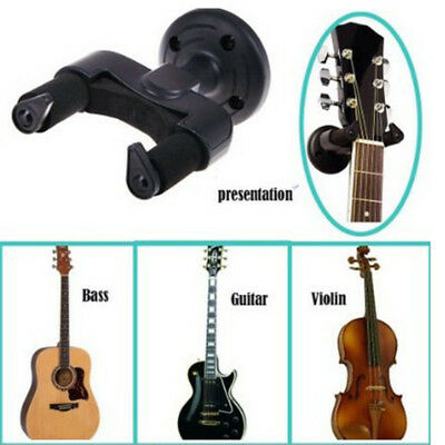 New Guitar Hanger Stand Holder Hook Wall Mount Display Acoustic Electric Bass
