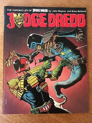 The Chronicles Of Judge Dredd 1: John Wagner & Brian Bolland Titan Books 1987