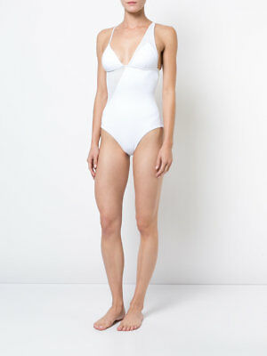 a5a099f9c8 $175 ONIA IRIS One Piece White Mesh Bathing Suit Swimsuit S - $60.00 ...