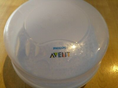 Philips Avent Microwave Steam Steriliser Portable Baby Feeding Bottles