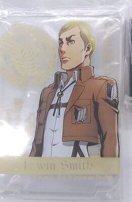 Attack on Titan LED Flash Plate Erwin Smith USJ 2017 Limited Cool Japan Anime